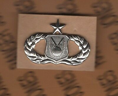 USAF Air Force Senior Operations Support Qualification badge Stabrite fullsized