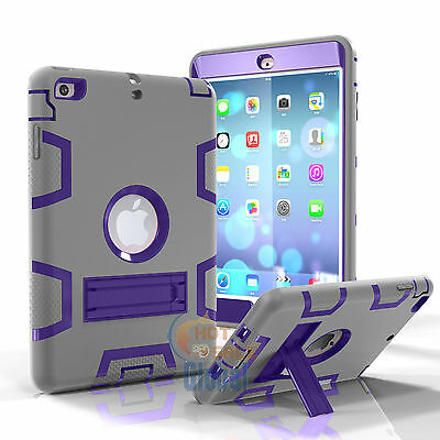 Shockproof Heavy Duty Case with Stand. Suit iPad 2/3/4