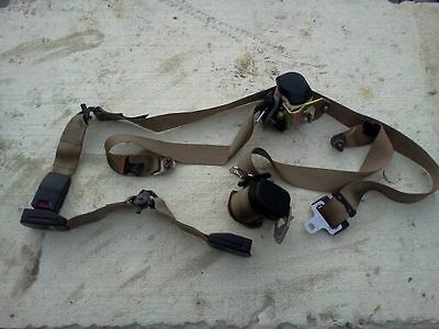 Jaguar xj6 Front Seat Belt Set left and righr side oem. 1988-1994