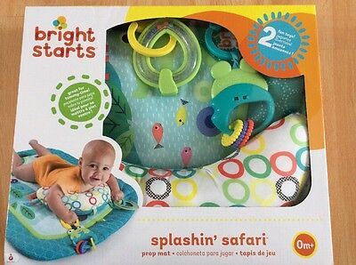 Bright Starts Baby Soft Activity Gym, Baby Prop Play Mat