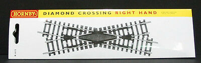New Hornby R615 Right Hand Diamond Crossing - Code 100 - Aussie Seller!