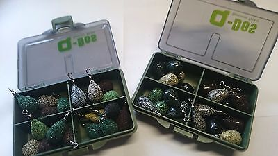 40 x LEAD WEIGHTS SINKERS-3/4 oz. x 1/2 oz. russthefish Sea/Carp fishing tackle