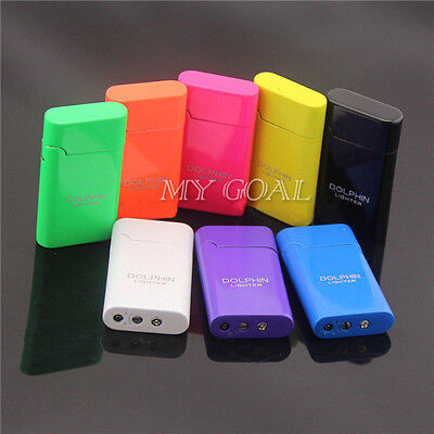 Dolphin Windproof Torch Jet Flame Tobacco Cigarette Butane Gas Cigar Lighter