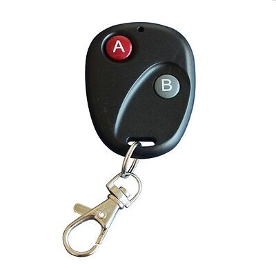 1Pc RF Remote Control Key Garage Gate Door Transmitter Wireless 315MHz/433MHz