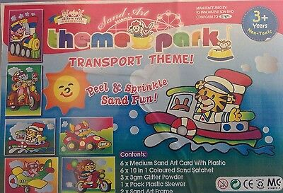 Special 40% Off! 2 x Mini Party Pack Includes 12 Sand Transport 10 colours Sand