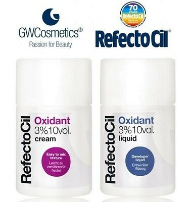 RefectoCil Professional Cream oxidant or Liquid oxidant 3% EU Seller