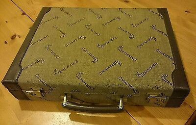 Browning guns Briefcase Italian made. Very rare 1980s reps case.