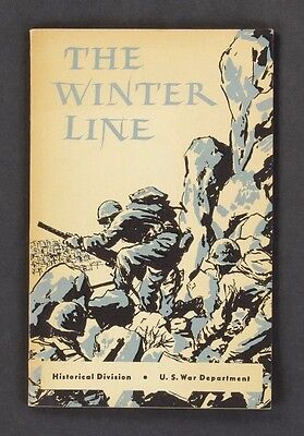 The Winter Line US War Department Historical Division 1945 Paperback