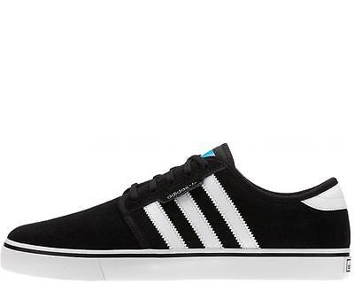 Adidas SEELEY Black White Black Casual  Skate Sneaker Discount (223) Men's Shoes