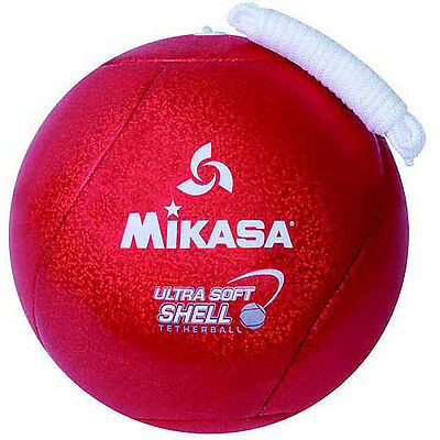 Mikasa 2-Ply Butyl Bladder Stitched Soft Shell Ultra Tetherball with Rope