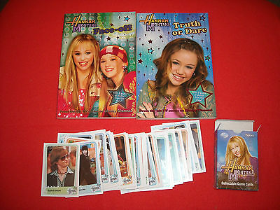 Disney's Hannah Montana 2 Books And Collectable Cards