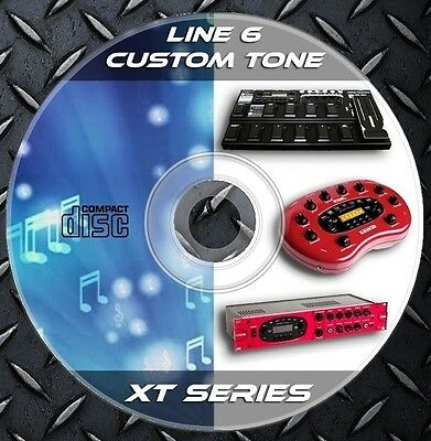 69.283 Patches LINE 6 BASS,POD XT-XT LIVE-XT PRO Custom Tone Preset XT SERIES