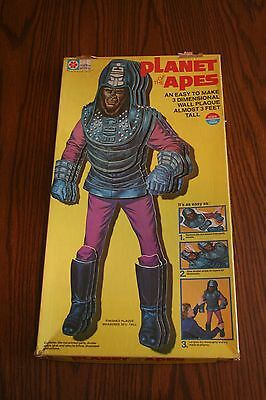Planet of the apes wall plaque