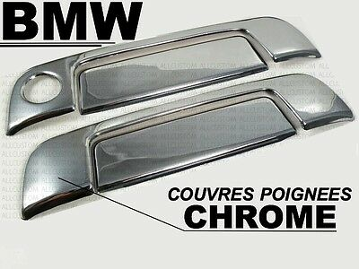 Bmw 3 Serie E36 90-00 Coupe Convertible M M3 Chrome Side Door Handle Covers Trim