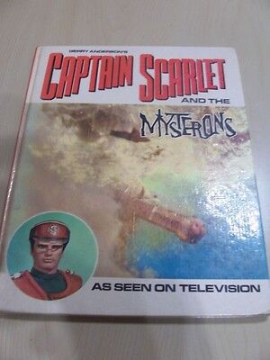 Gerry Anderson's Captain Scarlet and the Mysterons Book By Century 21 cs/2