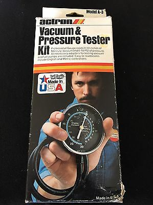 Actron Vacuum Pressure Tester Kit Used