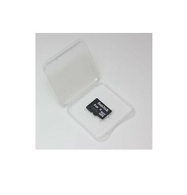 20 QTY Micro-SD SDHC SDXC Hard Plastic Memory Card Holder Jewel Case *NEW*