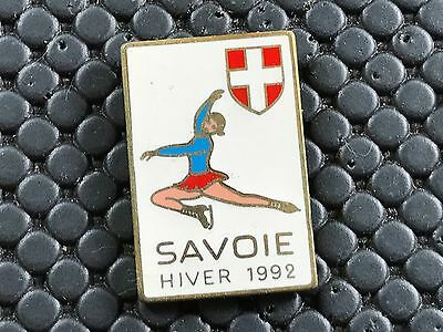 pins pin OLYMPIC JO ALBERTVILLE 92 OLYMPIQUE MARTINEAU  SAVOIE PATINAGE