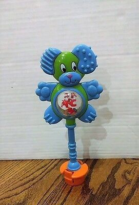 Evenflo Exersaucer Replacement Switch A Roo Teddy Bear Teether Rattle Toy ABC