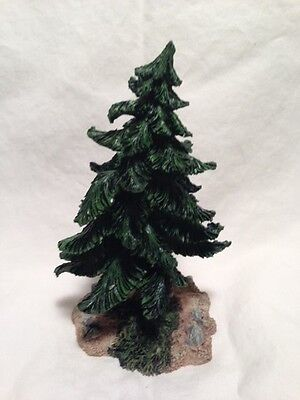 """Boyds Bearly-Built Villages A FOREST COLLECTION 5"""" Evergreen Tree #19809"""