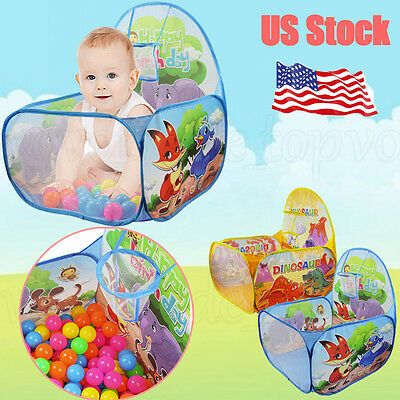 Mini Basketball Childrens Kids Baby Tent Ball Pit Playhouse Pop Up Garden Pool
