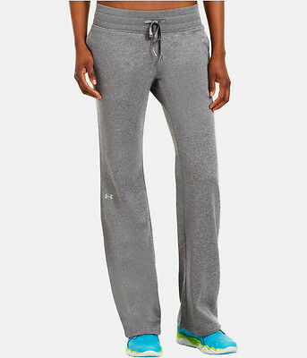 """Nwt Under Armour Women Armour Fleece Storm 32""""  work out Pant  graysize small"""