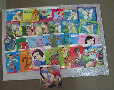 DISNEY LITTLE LIBRARY - Children's Picture Story Books x 26 - FAIRIES +