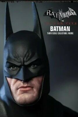 Sideshow Hot Toys Batman Arkham City 1/6 Figure 12""