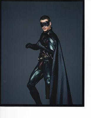 Lot of 2 Color 8x10 Photos Chris O'Donnell Robin Batman Forever in Costume