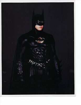 Lot of 2 8x10 Photos Val Kilmer Batman Forever n Costume B/W Color Panther Sonar