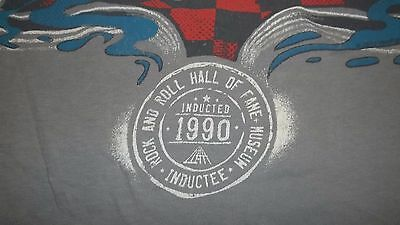 Very Cool THE WHO 1990 Rock and Roll Hall of Fame Inductee T-Shirt Large Museum
