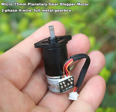DC 3V 5V 2-Phase 4-Wire Micro Worm Reducer Gear Stepper Motor Camera Robot DIY