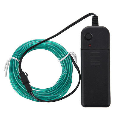 3M Flexible Neon Light Wire Rope Tube with Controller (Green) HY