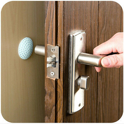 2pcs Set Wall Stickers Lock Protection Pad Door Stop Silence Golf Design Stopper