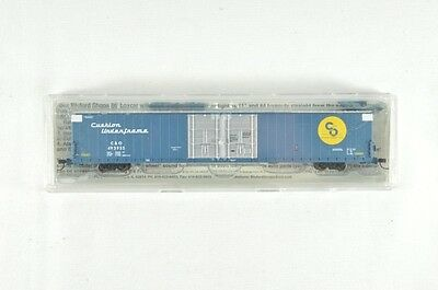 N Scale Bluford Shops C&O Double Door 86' Auto Parts Box Car
