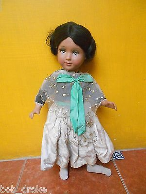 50s Vintage LINDA CARLA SPANISH DOLL by MUÑECAS DE ALBA antique FASHION pirula 1