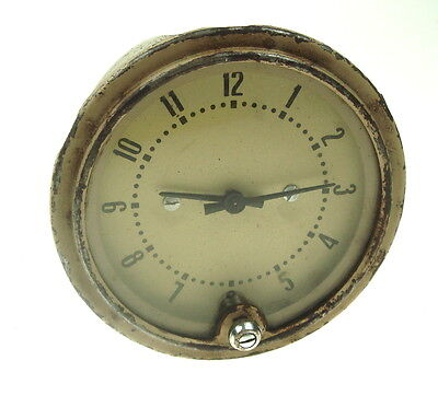 Used Vintage Collectible Truck 1968 Gaz -51 Russian  Rare Clock  Nr 7044