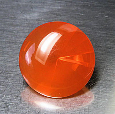 super       FEUEROPAL / FIRE OPAL      Bufftop     rund     3,31 ct
