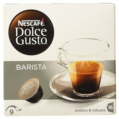 Dolce Gusto Espresso Barista Coffee (3 Boxes,Total 48 Capsules ) 48 Servings