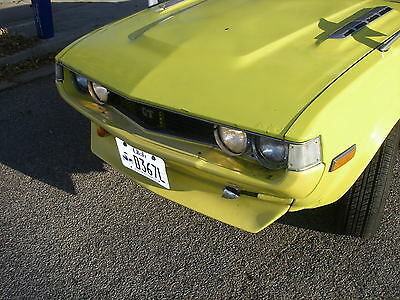 76-1977  toyota celica coupe  front spoiler, both.bumpers,trunk front filler