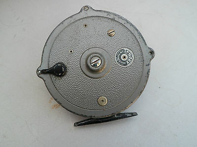 """Vintage  JW Young Trudex 4""""Centrepin Fishing Reel"""