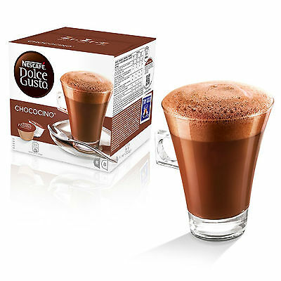 Dolce Gusto Chococino Coffee (3 Boxes,Total 48 Capsules ) 24 Servings