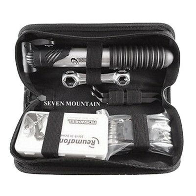 Bicycle Repair Multi Tools Kit Set Mountain Bike Cycle Puncture Tyre Pump New HT