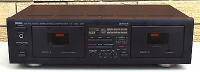 Yamaha KX-W262 Natural Sound Stereo Double Cassette Deck