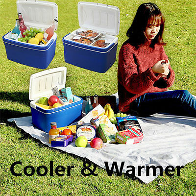 8L Mini Portable Cooler&Warmer Refrigerator Travel Camp Car Vehicle Fridge 12V