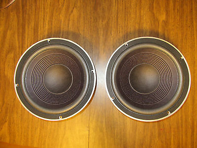 MINT pair JBL 125a woofers speakers complete recone, for the picky!