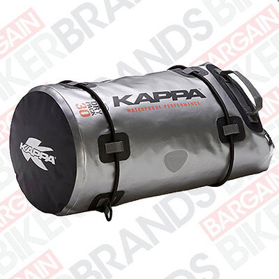 Kappa WA401S Dry Pack 30ltr 100% waterproof Motorcycle Touring Roll Bag