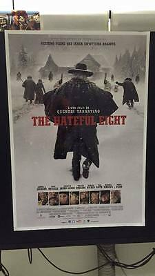 The Hateful Eight di Quentin Tarantino Poster originale italiano 70x100 cm