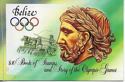 Belize Stamps Belize 1984 Olympic Games Booklet Complete Mint Never Hinged