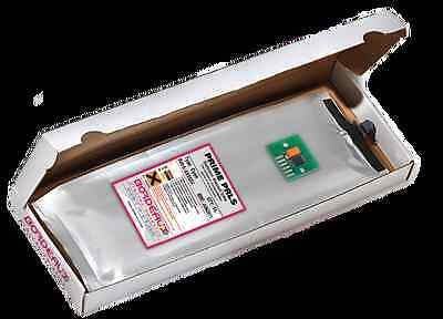 Bordeaux Low Solvent 1L Ink Bag and Chip for HP Designjet 9000S, 10000S (CA)